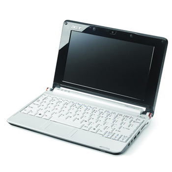 Acer Aspire One A150 White Refurbished Netbook Laptop