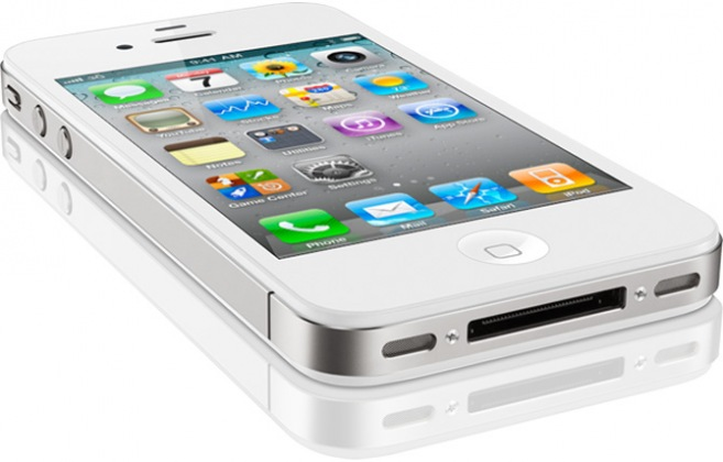 refurbished apple iphone 4 8gb white good condition. Black Bedroom Furniture Sets. Home Design Ideas