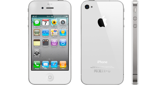 refurbished apple iphone 4s 16gb white brand new. Black Bedroom Furniture Sets. Home Design Ideas