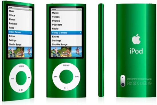 Apple iPod Nano 5th Generation Digital MP3 Player / Radio ...