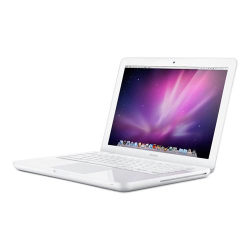 refurbished white apple macbook 13 3 core 2 duo. Black Bedroom Furniture Sets. Home Design Ideas