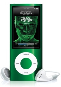Apple iPod Nano 5th Generation Digital MP3 Player / Radio Green 8GB Refurbished