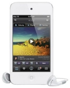 Apple iPod Touch 4th Generation Digital MP3 Player / Radio White 8GB Refurbished
