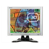 Edge10 TS700 17 inch UXGA Multimedia Touch Screen LCD Monitor 450:1 260cd/m2 1280 x 1024 8ms (Silver Black)