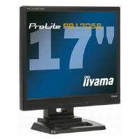 Iiyama ProLite PB1705S-1 Hard Glass Monitor 17 inch TFT LCD 1000:1 250cd/m2 5ms SXGA (1280 x 1024) D-Sub/DVI-D (Black)