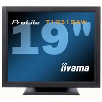 Iiyama ProLite T1931SAW 19 inch LCD Monitor Touchscreen 900:1 230cd/m2 1280x1024 5ms D-Sub/DVI-D/USB/RS-232 (Black)