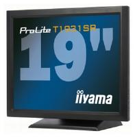 Iiyama ProLite T1931SR 19 inch Monitor Touchscreen SXGA TFT LCD 900:1 200cd/m2 (1280 x 1024) 5ms D-Sub/DVI-D/USB/RS-232 (Black)