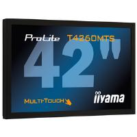 Iiyama ProLite T4260MTS 42 inch Multi-Touch LCD Display 4150:1 370cd/m2 1920x1080 6.5ms D-Sub/DVI-D/HDMI (Black)