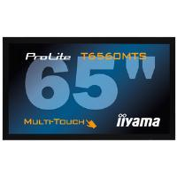 Iiyama ProLite T6560MTS 65 inch Multi-Touch LCD Display 4000:1 400cd/m2 1920x1080 8ms D-Sub/HDMI (Black)