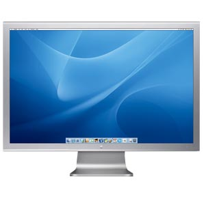 "Apple 20"" 20 Aluminum Cinema Display Screen TFT"